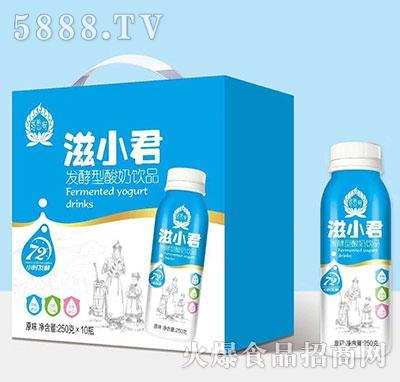 滋小君发酵酸奶原味250mlx10
