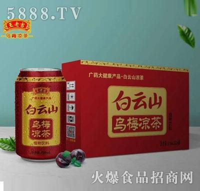 白云山乌梅凉茶310mlX12罐