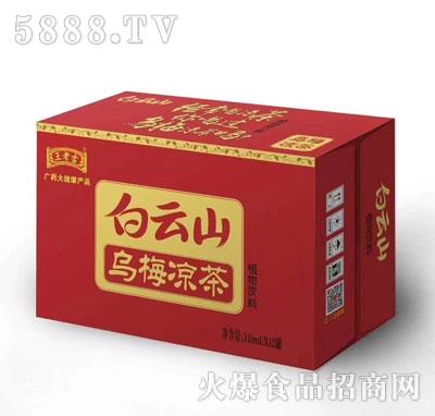 白云山乌梅凉茶310mlX12