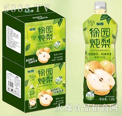 徐园炖梨果汁1.25Lx6