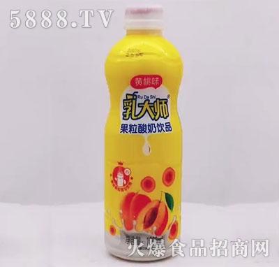 乳大师果粒酸奶饮品黄桃味1000ml