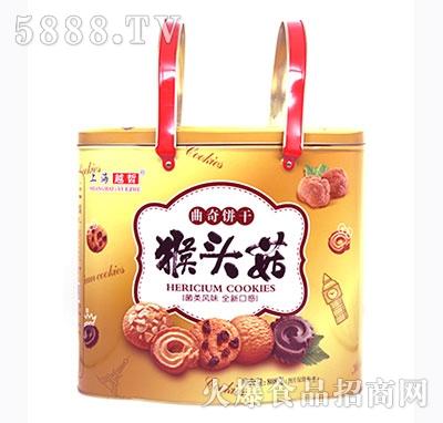 上海越哲猴头菇曲奇饼干808克