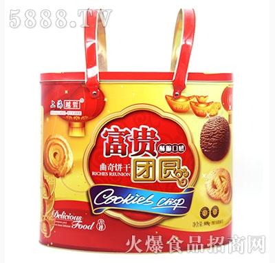 上海越哲富贵团员曲奇饼干808g
