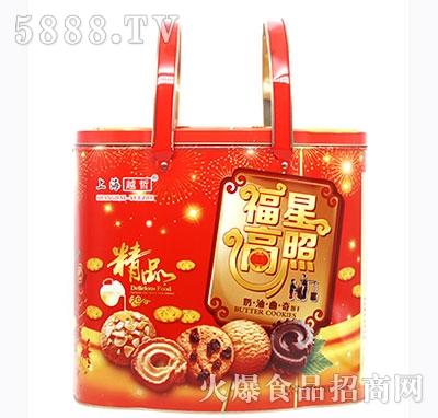 上海越哲福星高照奶油曲奇饼干808g