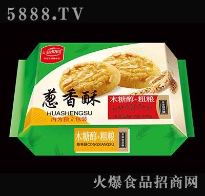谷悦园木糖醇粗粮葱香酥340克产品图