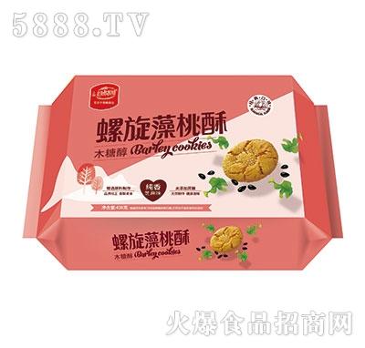 谷悦园螺旋藻桃酥芝麻味438克产品图