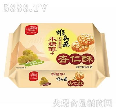 谷悦园猴头菇杏仁酥300克产品图