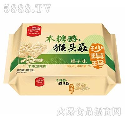 谷悦园猴头菇沙琪玛提子味300克产品图