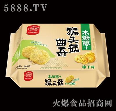 谷悦园猴头菇曲奇榛子味268克产品图