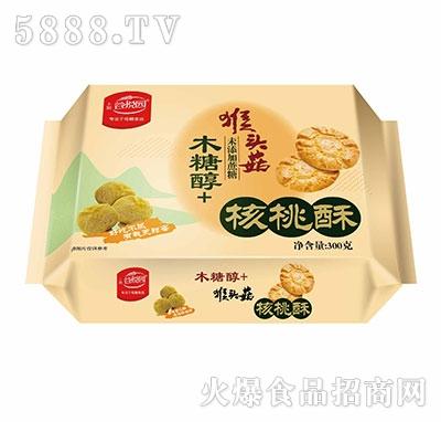 谷悦园猴头菇核桃酥300克产品图