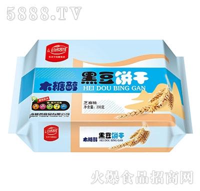 谷悦园黑豆饼干芝麻味200克产品图