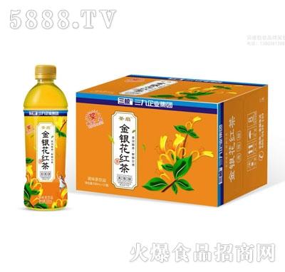 茶扇金银花红茶500lX15