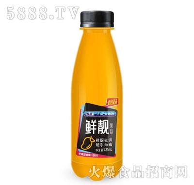 鲜靓果昔芒果复合果汁饮料430ml