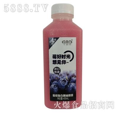 豫善堂蓝莓复合果味奶昔400ml