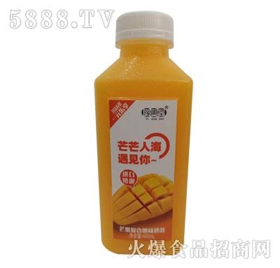 豫善堂芒果复合果味奶昔400ml