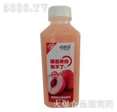 豫善堂蜜桃复合果味奶昔400ml