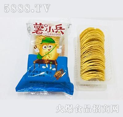 薯小兵铁板鱿鱼味薯片