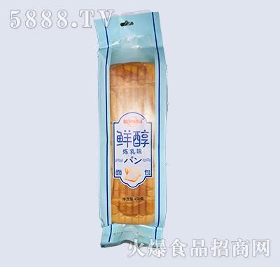 烘客粗园鲜醇炼乳味面包450g
