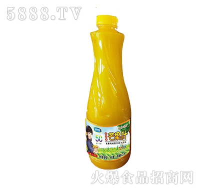 山谷果园益生菌发酵芒果果汁1.25L