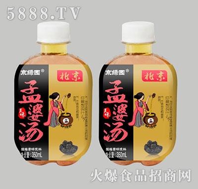 京绿园孟婆汤酸梅果味饮料350ml