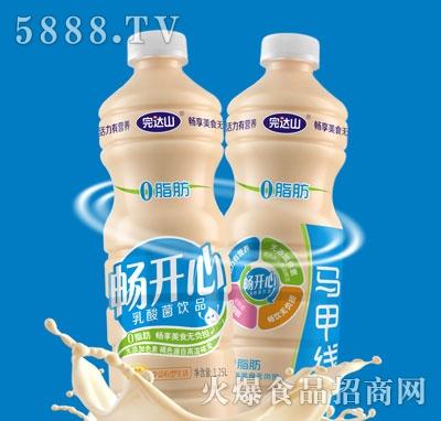 完达山畅开心乳酸菌饮品1.25L(瓶)