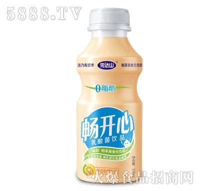 完达山畅开心乳酸菌饮品338ml