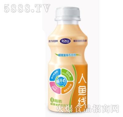 完达山畅开心乳酸菌饮品338ml(人鱼线)