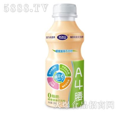 完达山畅开心乳酸菌饮品338ml(A4腰)