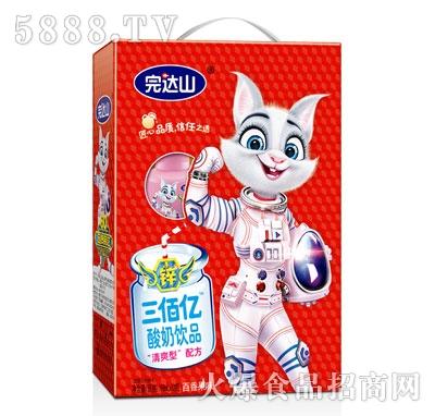 完达山三佰亿酸奶饮品百香果味(箱)