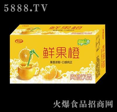 睿田鲜果橙风味饮料箱装