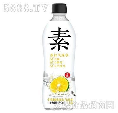 素苏打气泡水卡曼橘味480ml