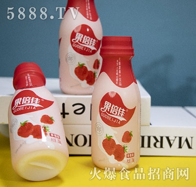 果倍佳乳酸菌果汁草莓338ml
