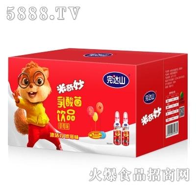 完达山米奇妙乳酸菌饮品草莓味200mlX24