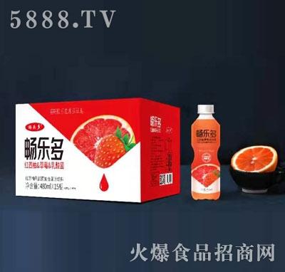 畅乐多红西柚草莓乳酸菌