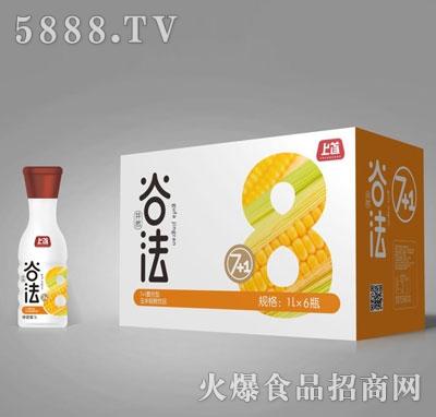 上首7+1复合型玉米粗粮饮料1LX6瓶