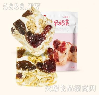 木糖醇牛轧奶芙蔓越莓提子味200g产品图
