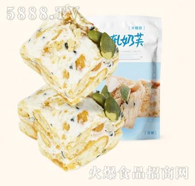 木糖醇牛轧奶坚果味200g产品图