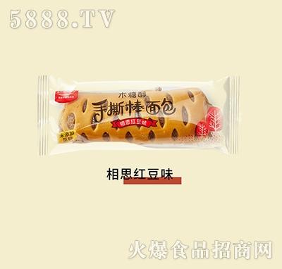 谷悦园木糖醇手撕面包相思红豆味500g产品图
