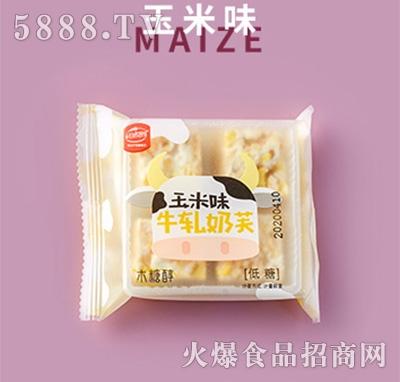 谷悦园木糖醇牛轧奶酥玉米味产品图