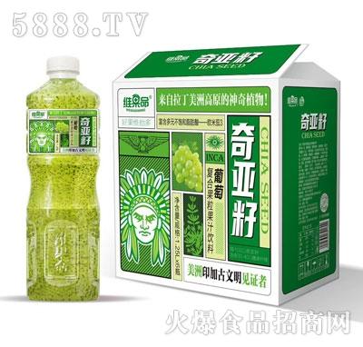 维果命葡萄复合果粒果汁1.25LX6