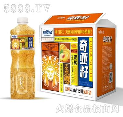 维果命黄桃复合果粒果汁1.25LX6