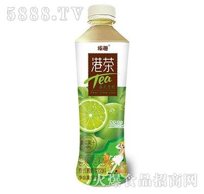 臻趣港茶泰式青柠茶饮料500ml