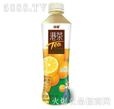 臻趣港茶金桔柠檬茶饮料500ml