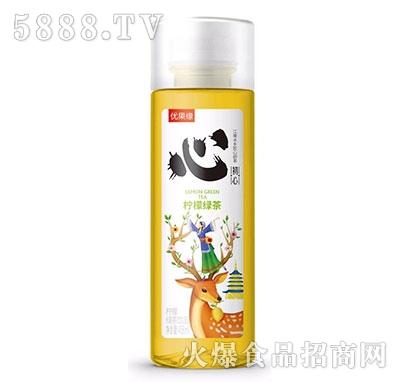 优果缘柠檬绿茶果汁茶458ml