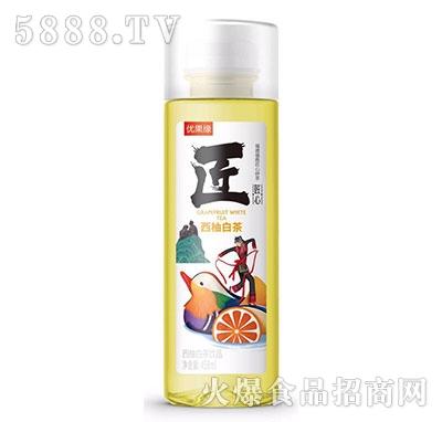 优果缘西柚白茶果汁茶458ml
