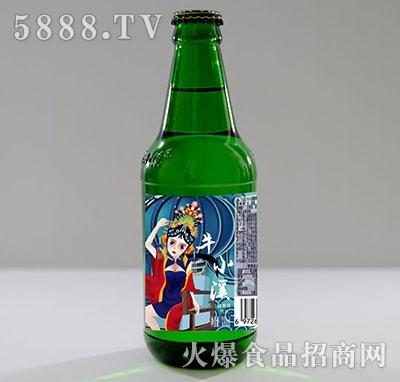 牛小溪汽水糖果味330ml