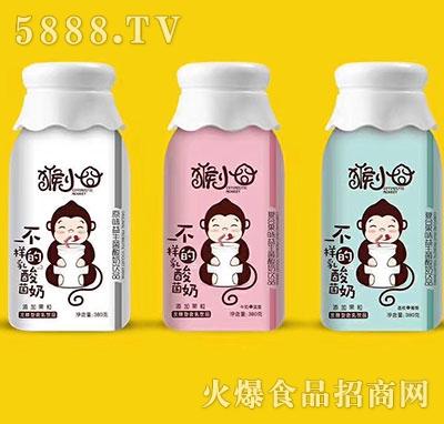 猴小�逡嫔�菌酸奶380g