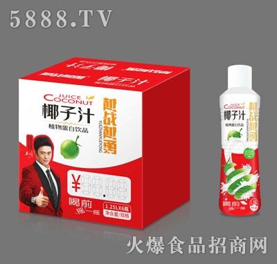 越战越勇椰子汁1.25LX6