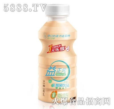 益正元乳酸菌饮品340ml