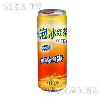 缘情微泡冰红茶310ml